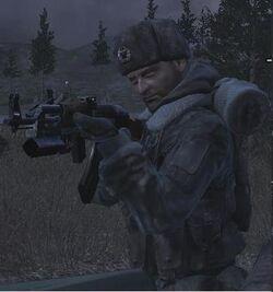 Sgt.  Kamarov v Rusku