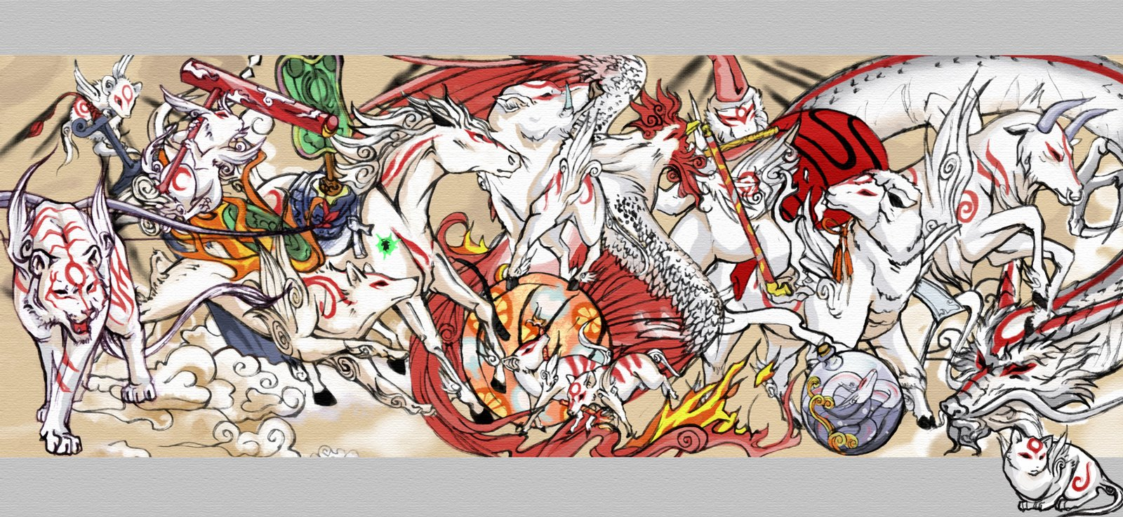 Okami - Picture Colection
