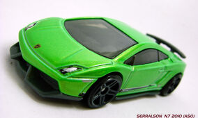 GALLARDO SUPERLEGGERA GREEN B