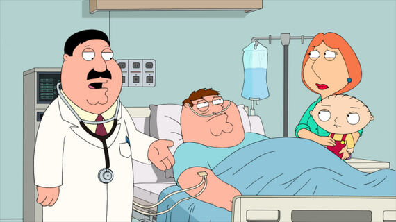 Family Guy Season 9 Episode 8 New Kidney in Town