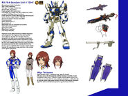 Gundam Unit 4 G04 in English