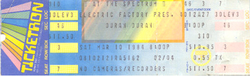 Ticket 10 march 1984 duran duran