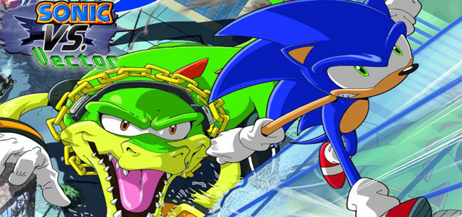 Sonic-and-Vector-fight