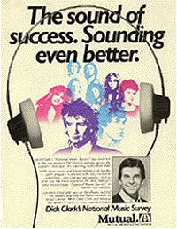 Dick Clark National Music Survey advert duran duran