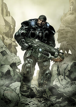 Lliam&#39;s Marcus Fenix