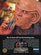 DS9 Playmates ad