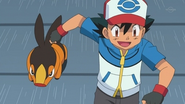EP676 Tepig y Ash