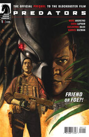 Predators issue 1