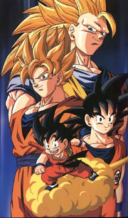 Gokus Appearances Throughout The Dragon Ballseries