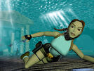 Lara Croft Underwater