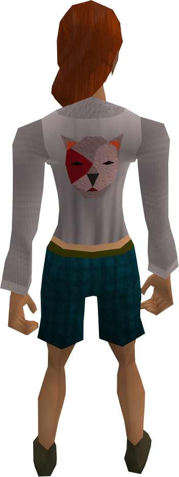 Bob shirt equipped (red)