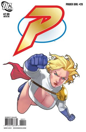 Cover for Power Girl #20