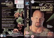 Survivor Series 2000 DVD