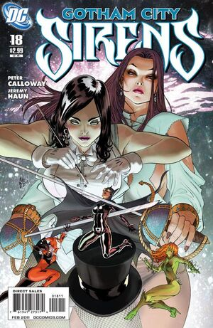 Cover for Gotham City Sirens #18