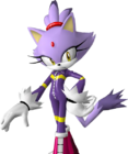 Blaze The Cat - Artwork (1)