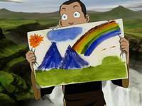 Sokka&#39;s painting