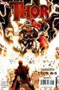 Thor Rebirth Cover