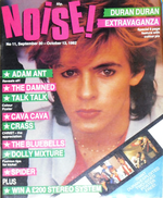 Noise magazine duran duran no 11 september 30 1982