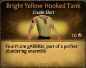 Bright Yellow Hooded Tank