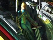 Samus in gunship render 2