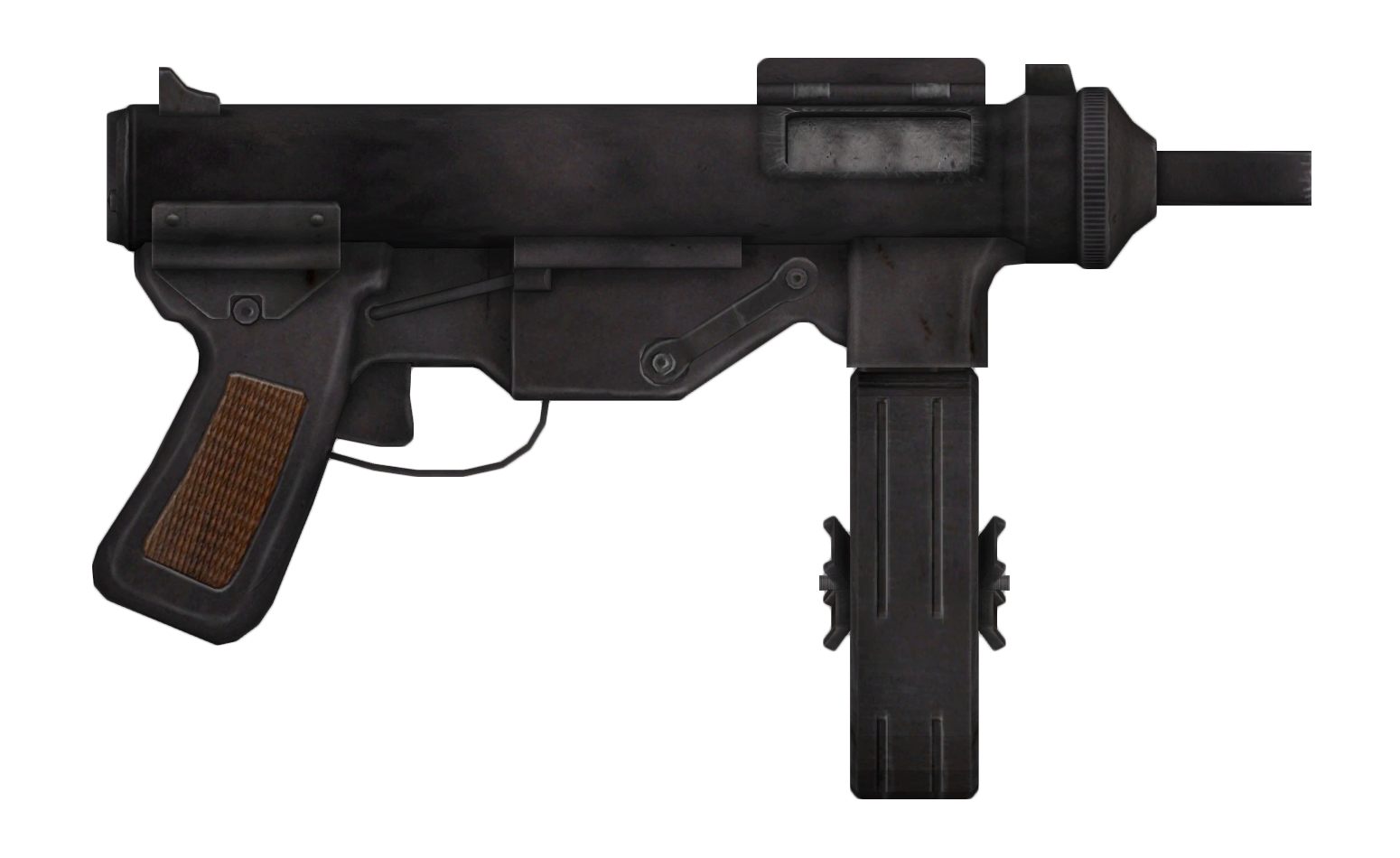 Vance&#39;s 9mm submachine gun