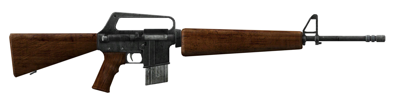 Fallout  Automatic Rifle Build