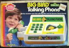 Big bird talking phone 1