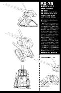RX-75 Guntank Mass Production Type - Specifications and Technical Detail and Design