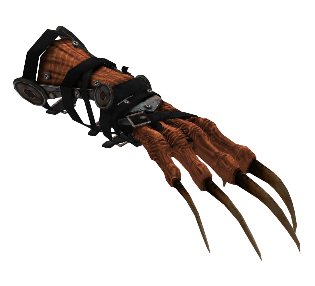Deathclaw gauntlet