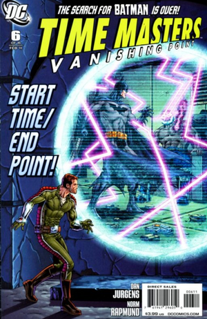 Cover for Time Masters: Vanishing Point #6