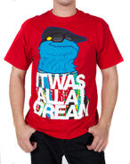 T-Shirt-CookieMonster-ItWasAllADream-(2011)