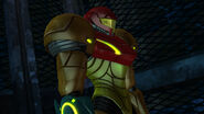 Samus thinking Elevator Cryosphere HD