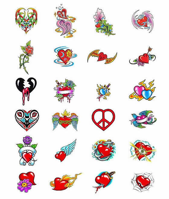tattoo hart. heart tattoos designs. small