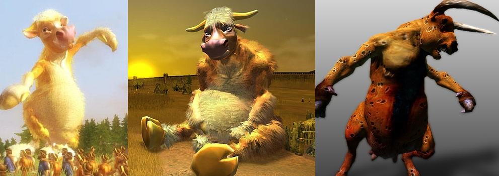 cow creatures bw2 evil wikia ea blackandwhite wiki
