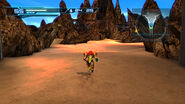 Environmental Test Floor simulated desert area Pyrosphere HD