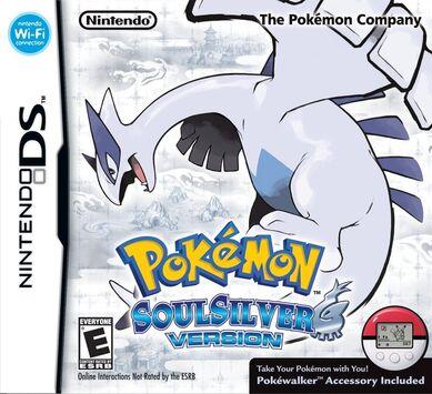 [NDS] Pokémon Heart Gold - Soul Silver [BR] 389px-Pokemon_SoulSilver