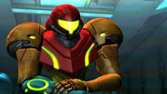 Samus sees Ridley corspe Bioweapon Research Centre HD