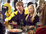 KC And Jenna At The Dot In Their Degrassi Uniforms