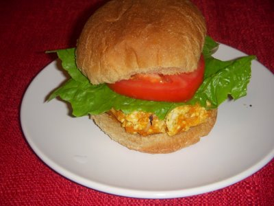 Sweetpotatoburger