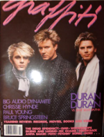 US GRAFFITI magazine vol 3 no 2 1986 Duran Duran