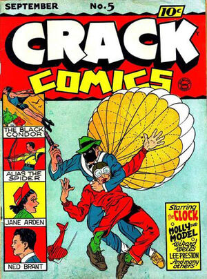 Cover for Crack Comics #5