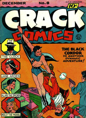 Cover for Crack Comics #8