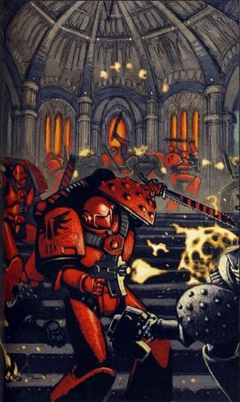 Blood Angels Defend