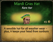 Mardi Gras Hat
