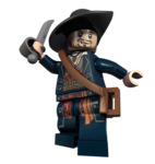 LEGO Barbossa pirate