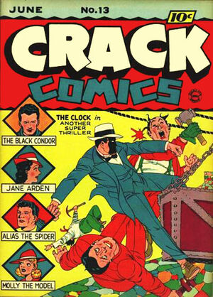 Cover for Crack Comics #13