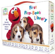 ElmosWorldFirstFlapBookLibrary