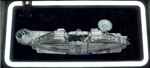 Millennium Falcon captured