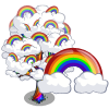 Rainbow Tree-icon