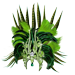 Standard 75x75 collect head dresses junglevines 01